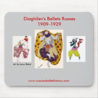 Diaghilev's Ballets Russes Mousepad