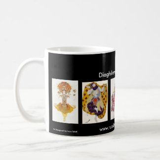 Diaghilev's Ballets Russes Red Border Mug