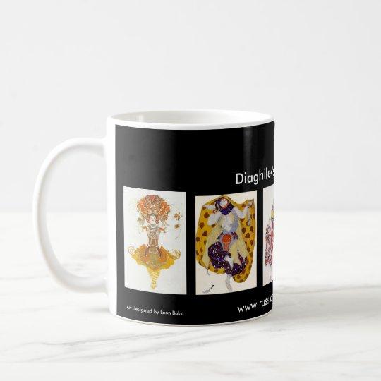Diaghilev's Ballets Russes Red Border Mug