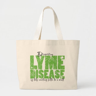 Diagnosing Lyme Disease Tote Bags