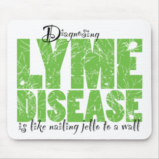 Diagnosing Lyme Disease Mousepads
