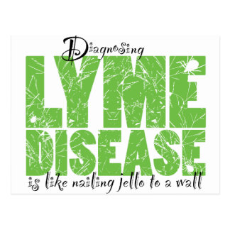 Diagnosing Lyme Disease Postcard