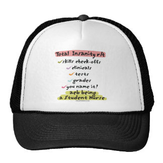 Diagnosis Total Insanity Mesh Hats