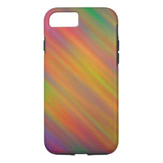 Diagonal Blur iPhone 7 Tough Phone Case