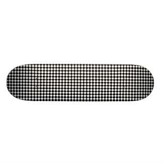 Diagonal Checkers Skateboard