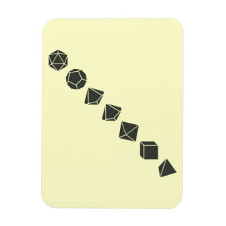 Diagonal Dice (Dark) Magnet