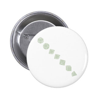 Diagonal Dice (Light) 6 Cm Round Badge