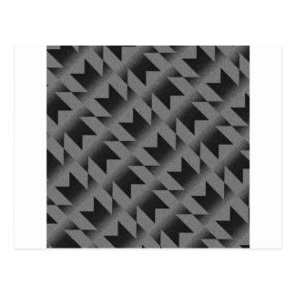 Diagonal M pattern Postcard