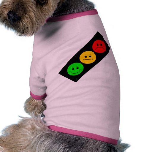 Diagonal Moody Stoplight Pet Shirt