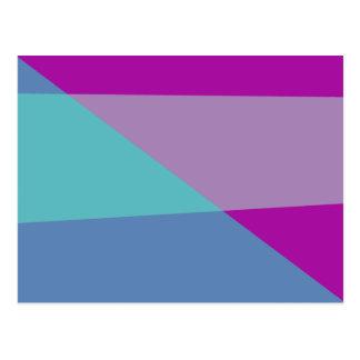 Diagonal Postcard