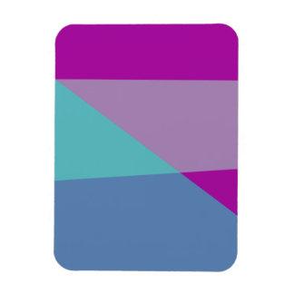 Diagonal Rectangle Magnet