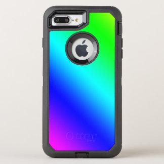 Diagonal Rainbow Gradient OtterBox Defender iPhone 8 Plus/7 Plus Case