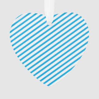 Diagonal Stripe Blue Pattern