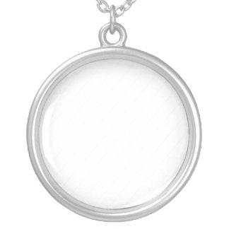 Diagonal Stripe Personalized Necklace