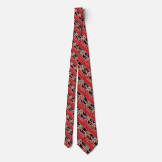 diagonal striped migrating fish any colour tie