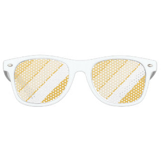 diagonal striped wayfarer sunglasses