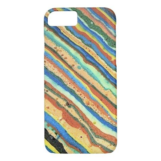 """Diagonal Stripes Phone Case"" iPhone 7 Case"