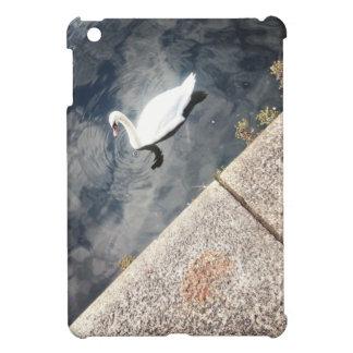 Diagonal Swan (2) iPad Mini Cover