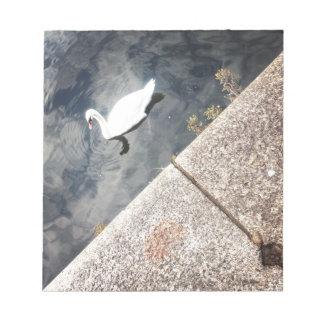 Diagonal Swan (2) Notepad