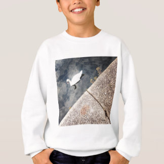 Diagonal Swan (2) Sweatshirt