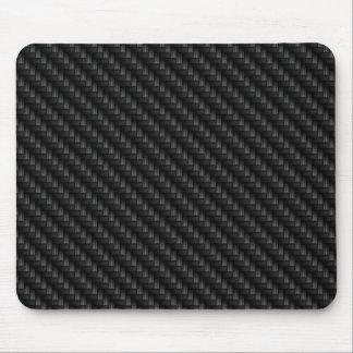 Diagonal Tightly Woven Carbon Fiber Texture Mouse Mat