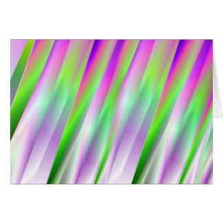 Diagonals Greeting Card