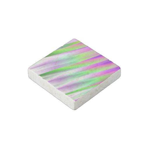 Diagonals Stone Magnet