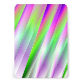 Diagonals Custom Invitations