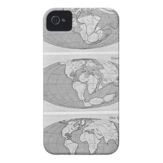 Diagram of Earth iPhone 4 Case
