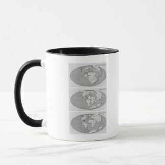 Diagram of Earth Mug