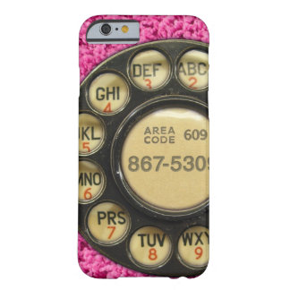 Dial Me Pink Barely There iPhone 6 Case