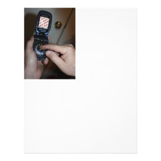 Dial-up Cellular Retro-Phone Photo Frame Personalized Flyer