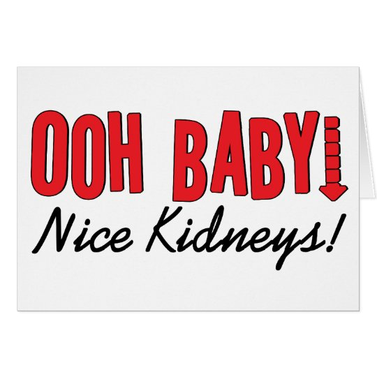 Dialysis Humour Gifts & T-shirts Card