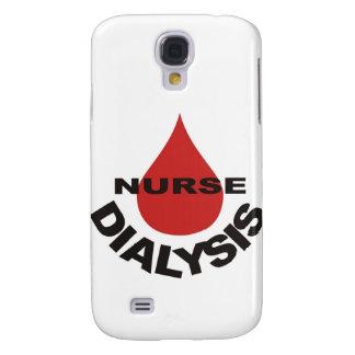 Dialysis Nurse Blood Drop Over Galaxy S4 Case
