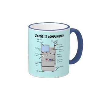 Dialysis Nurse/Tech Funny Gifts Ringer Mug