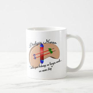 "Dialysis Nurse ""When Your Kidneys Stop"" Coffee Mug"