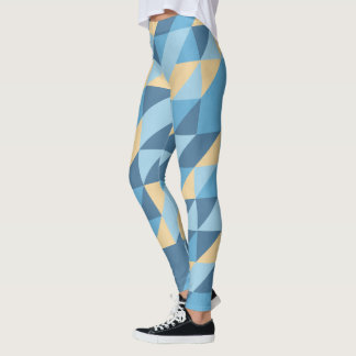 Diamond abstract patterns leggings