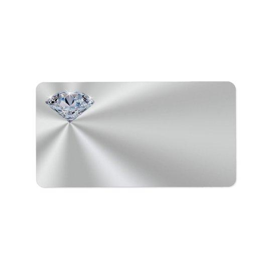 Diamond Address Labels or Large Return Labels