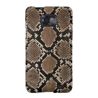 Diamond Back Rattlessnake Skin Samsung Galaxy SII Case