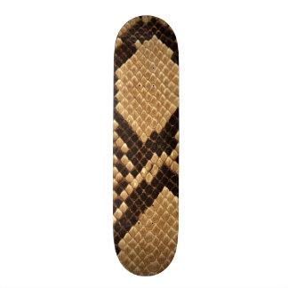 Diamond Back Snake Skin 21.6 Cm Old School Skateboard Deck