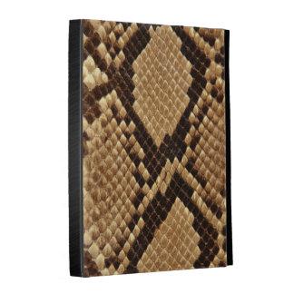 Diamond Back Snake Skin iPad Folio Cases