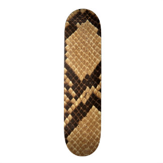 Diamond Back Snake Skin Skateboard