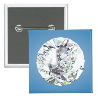 Diamond 15 Cm Square Badge