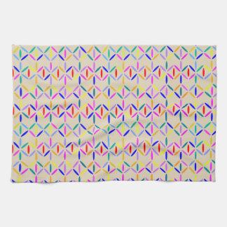 diamond bars tea towel