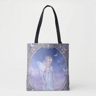 Diamond Birthstone Fairy All-Over-Print Tote Bag