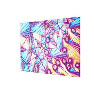 Diamond Blasts Gallery Wrapped Canvas