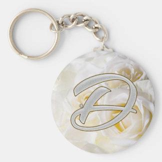 Diamond Bling D Key Ring