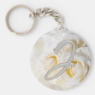Diamond Bling J Key Ring