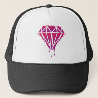 Diamond Blood Trucker Hat