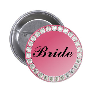 Diamond Bride Button